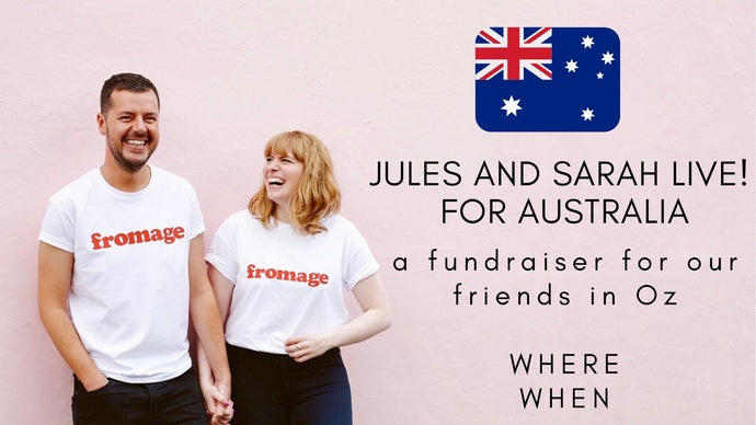 The Jules and Sarah Aussie Fundraiser