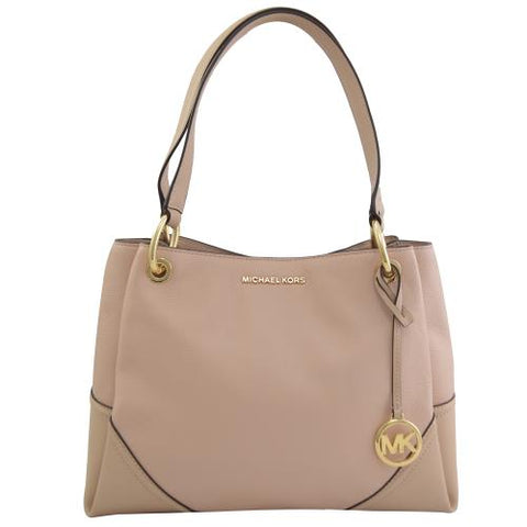 Michael Kors Nicole Large Tote in Bisque