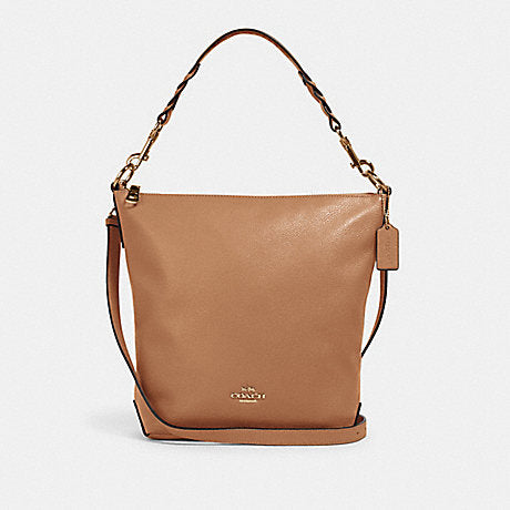 Coach Abby Duffle In Taupe