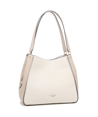 Kate Spade Leila Medium Triple Compartment Shoulder Bag In Warm beige
