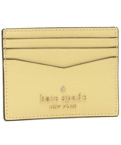 Kate Spade Small Slim Card Holder Staci Butter