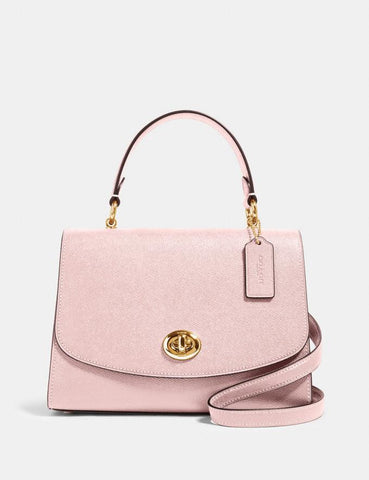 Coach Tilly Top Handle Satchel In Pink Blossom