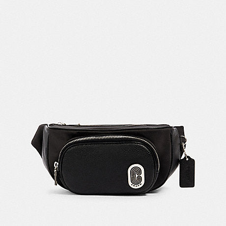 Coach Court Belt Bag In Black