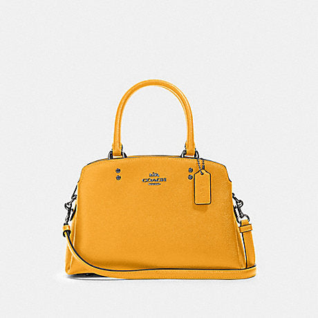 Coach Mini Lillie Carryall In Honey