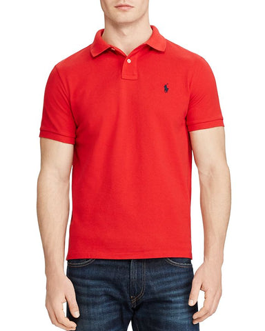 Polo Small Pony Custom Slim Fit In Red