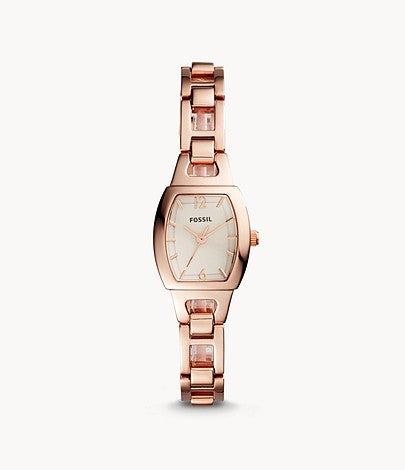 Women Isobel Three-Hand Rose Gold-Tone Stainless Steel Watch