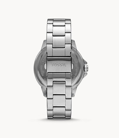 Fossil Men Bannon Three-Hand Date Stainless Steel Watch BQ2505