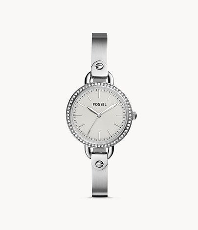 Women Classic Minute Three-Hand Stainless Steel Watch