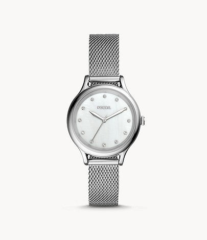 Fossil Women Laney Three-Hand Stainless Steel Watch BQ3390