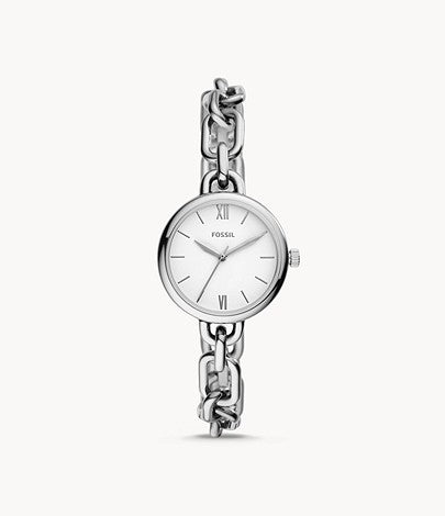 Women Embry Three-Hand Stainless Steel Watch