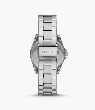 Fossil Women Janice Multifunction Stainless Steel Watch BQ3613