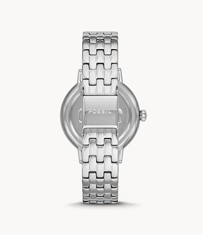 Fossil Women Reid Three-Hand Stainless Steel Watch BQ3654