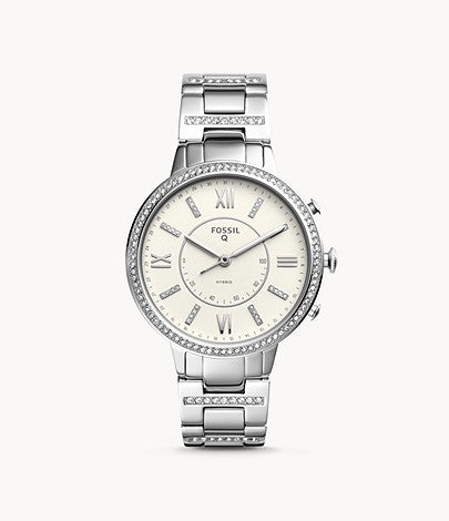 Women Watch Hybrid Smartwatch Virginia Stainless Steel FTW5009