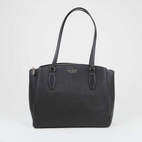 Kate Spade Monet Large Triple Compartment In Black