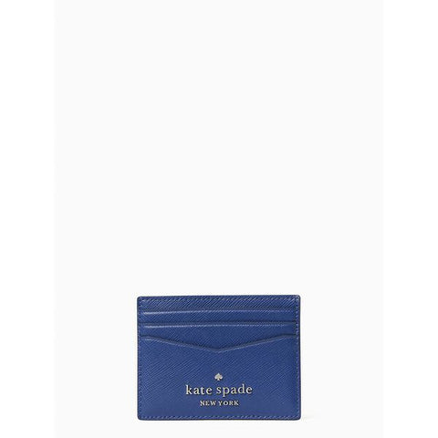 Kate Spade Small Slim Card Holder Staci River Blue