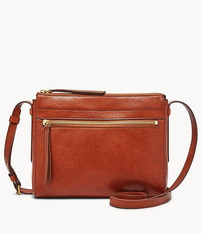 Fossil Felicity Crossbody In Brown