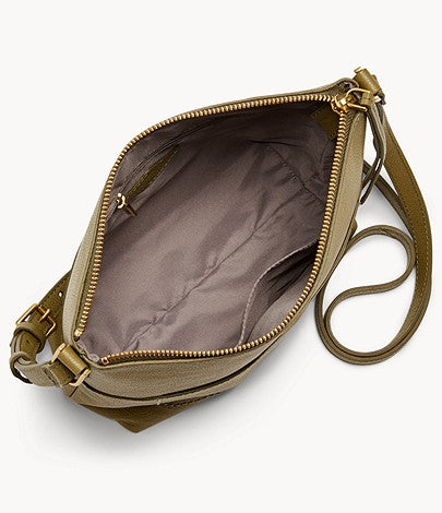 Fossil Amelia Crossbody In Olive