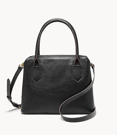 Fossil Lana Satchel In Black