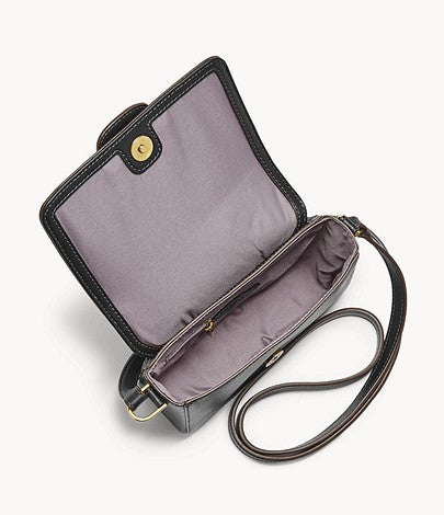 Fossil Mandy Small Crossbody In Black