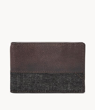 Fossil Duron RFID Front Pocket Men Wallet Bifold