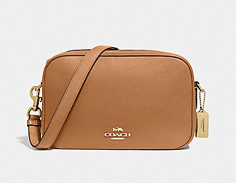 Coach Jes Crossbody In Light Saddle