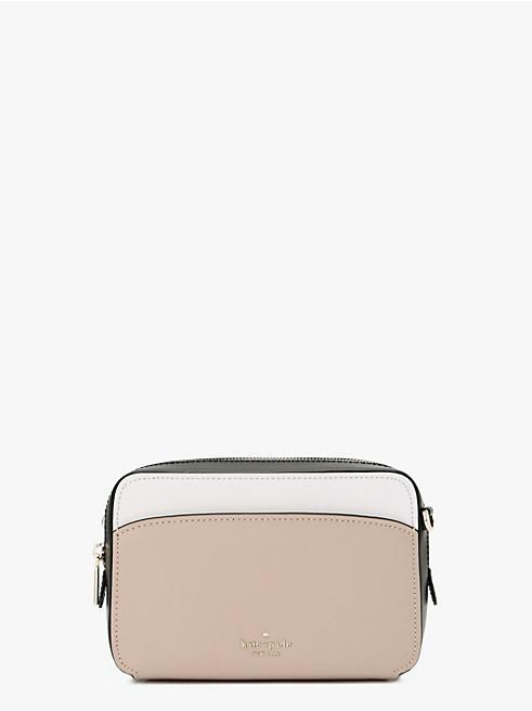 Kate Spade Lauryn Camera Bag In Colorblock WarmBeige