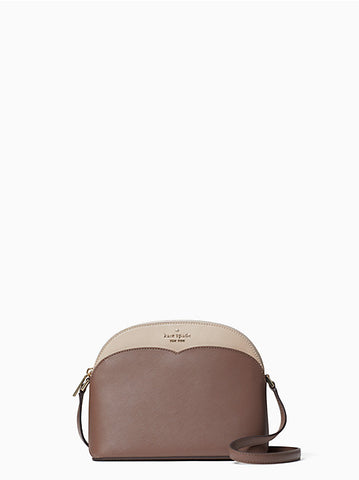 Kate Spade Payton Dome Crossbody In Neutral