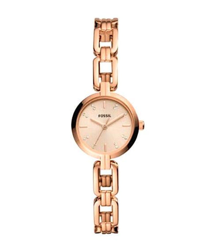 Fossil Kerrigan MIni Three-hand Stainless Steel Watch BQ3344
