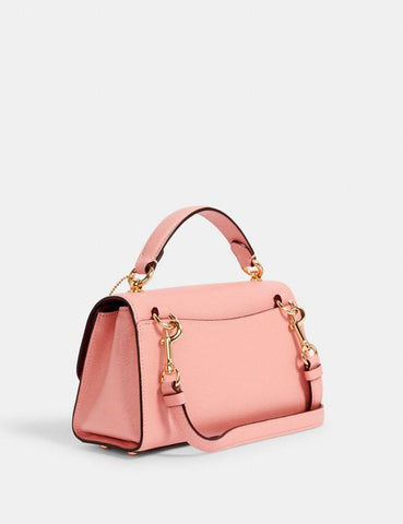 Coach Tilly Satchel 23 In Candy Pink With Cherry
