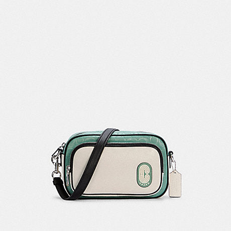 Coach Court Crossbody In Colorblock Signature Nylon