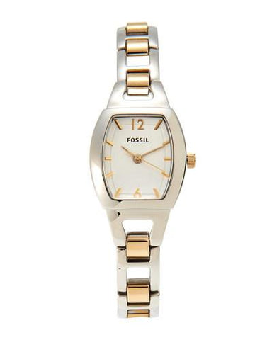 Silver Tone Dial Two Tone Stainless Steel Women's Watch BQ1068