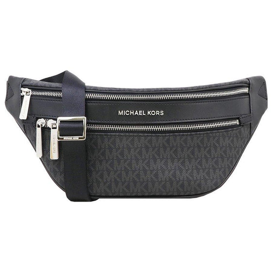 Michael Kors Kenly Waist Pack Crossbody in Monogram Black
