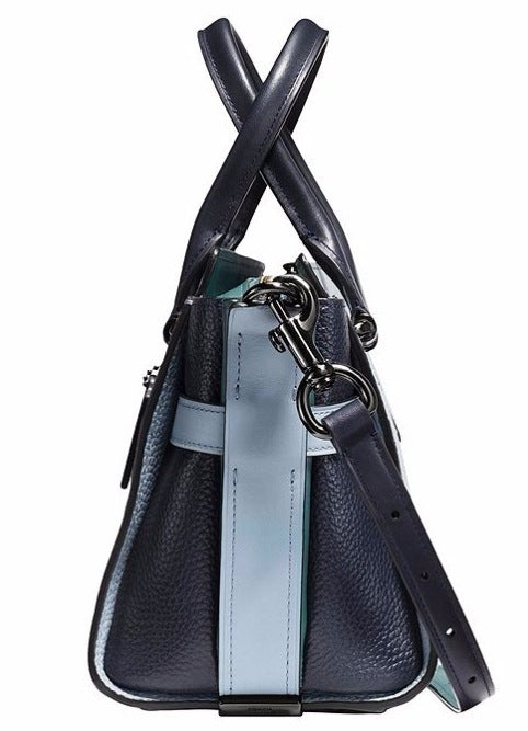 Coach Swagger 27 Blue Colorblock