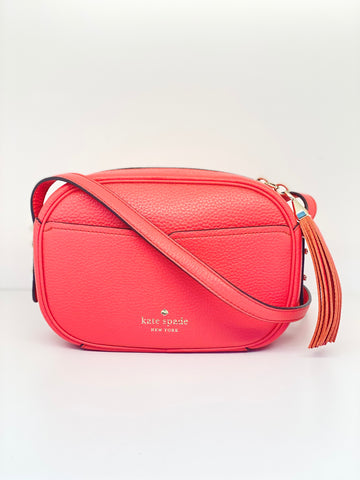 Kate Spade Kourtney Camera Bag In Red Stoplight