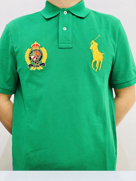 Polo Big Pony Classic Fit Yacht Logo In Green