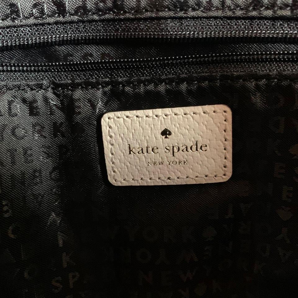 Kate Spade Robinson Street Maise Black Cowhide Leather Satchel