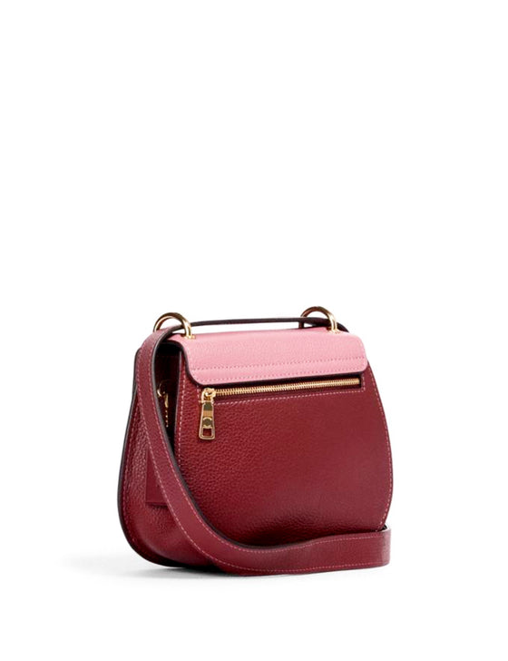 Coach Remi Saddle Bag In Colorblock