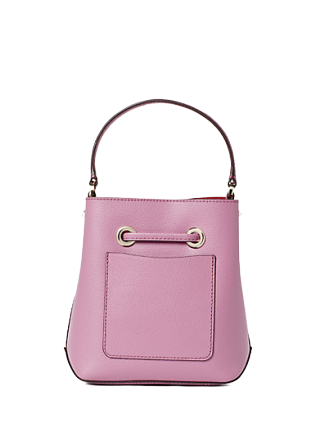 Kate Spade Eva Small Bucket In Pink Mauve