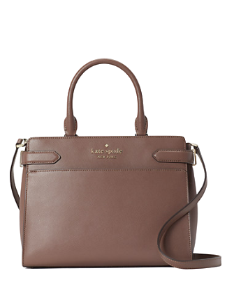 Kate Spade Staci Colorblock Medium Satchel In Dusk City
