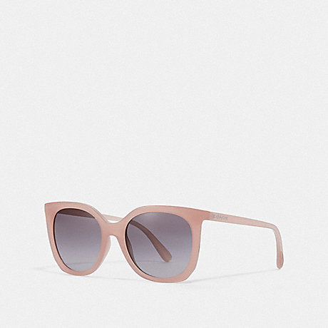 Coach Women Sunglasses Alexa Square Milky Pink Blush