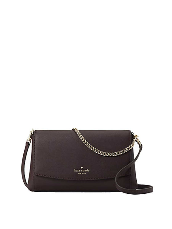 Kate Spade Laurel Way Greer Crossbody In Chocolate Cherry