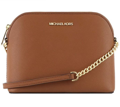 Michael Kors Cindy Dome Crossbody In Luggage