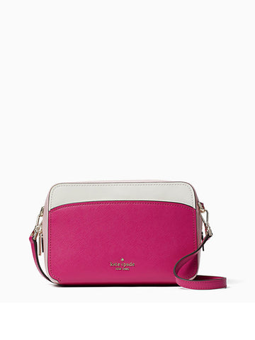 Kate Spade Lauryn Camera Bag In Colorblock Pink