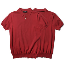 Dark Rouge Polo Top