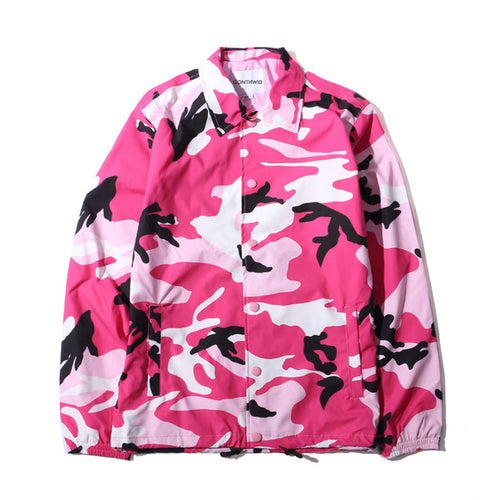 Camo Windbreaker (8 Colours)
