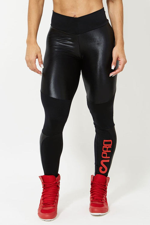 CANOAN Midnight Storm Thighs Crossfit Leggings