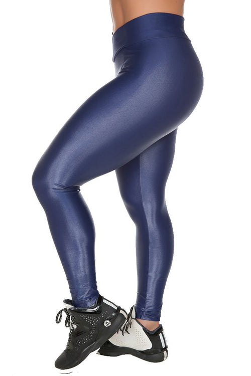 GAROTA FIT Midnight Blue Cire Workout Tights