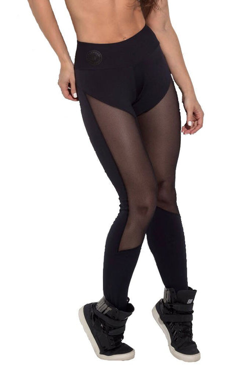 SUPERHOT Sexy Long Meshed Thighs Workout Leggings