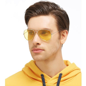 Magic Yellow Lens Sunglasses