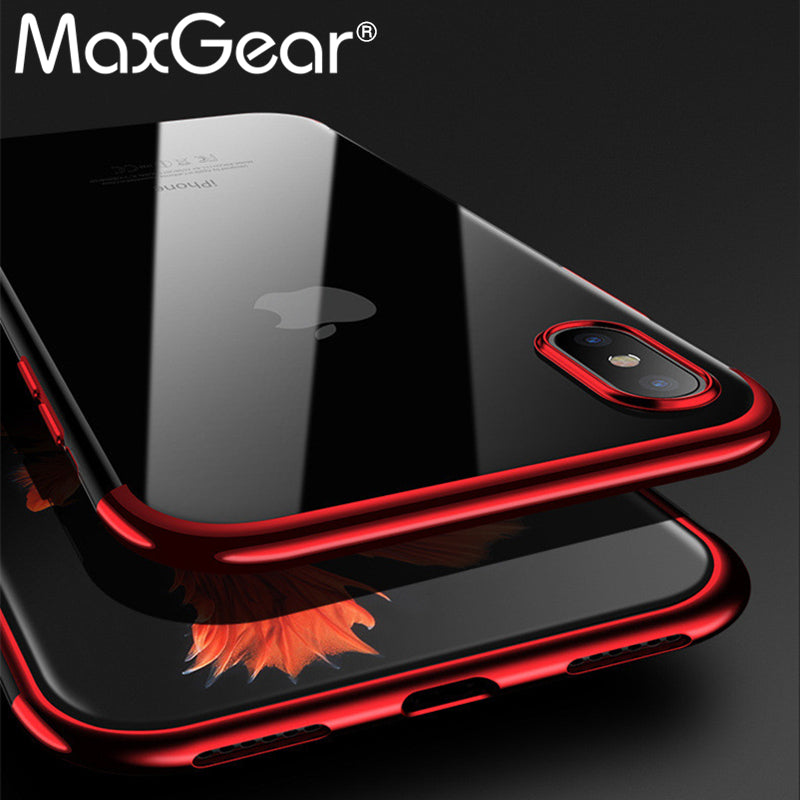 Case Silicone Cover Original For iphone X